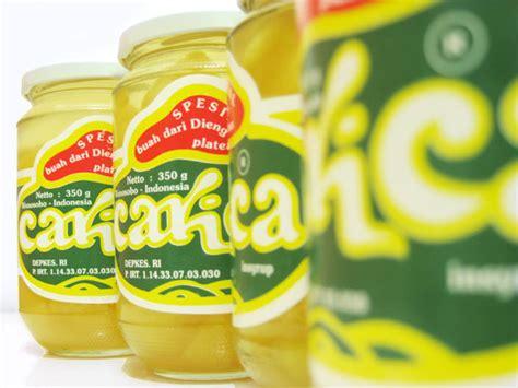 Carica Syrup Gemilang Isi 6 berburu oleh oleh khas wonosobo carica cipika