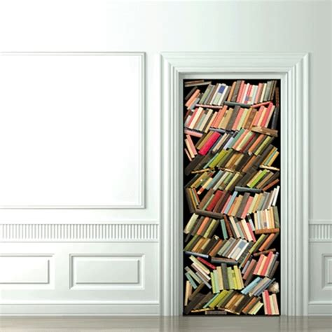 bedroom door stickers 8 cool and creative 3d door stickers