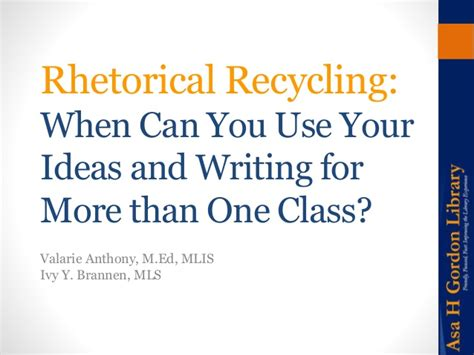 Can You Use More Than One Gift Card On Amazon - rhetorical recycling when can you use your own ideas and writing for