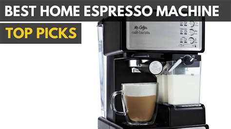best home espresso machine 2018