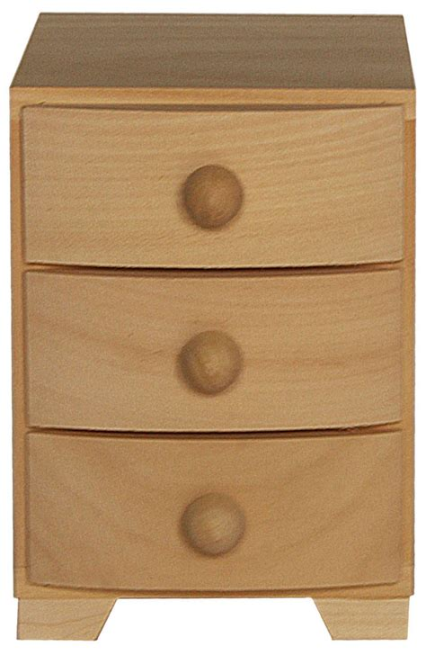 3 Drawer Pine Chest Of Drawers by Pine Wood 3 Drawer Chest Of Drawers
