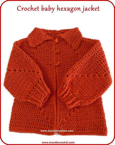 hexagon pattern clothes crochet hexagon jacket crochet hexagon sweater free