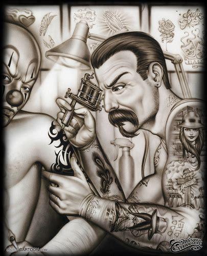 mister cartoon tattoo flash mr cartoon drawing flickr photo sharing
