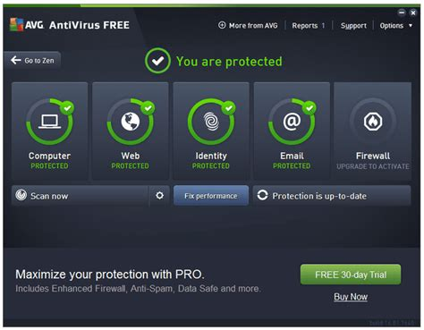 avg free antivirus program review avg antivirus free