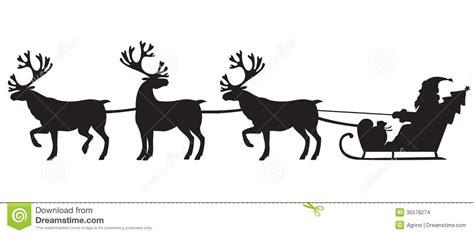 imagenes de santa claus con los renos santa claus que monta un trineo con los renos imagenes de