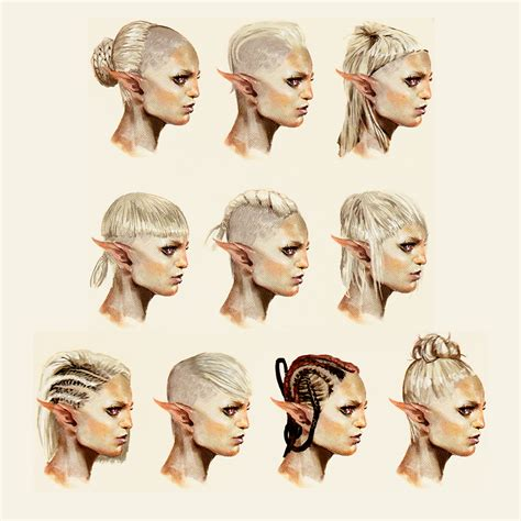 book character hairstyles hostagesandsnacks sera concept art in the art of dragon
