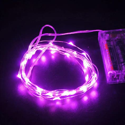 5m 50 leds silver wire christmas ls fairy string party