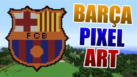 logo barcelona 512x512 pixel fc barcelona logo pixel minecraft
