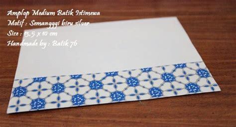 Money Envelope Set Lop Uang jual lop batik indonesia motif semanggi biru silver kode m kartu ucapan batik kartu