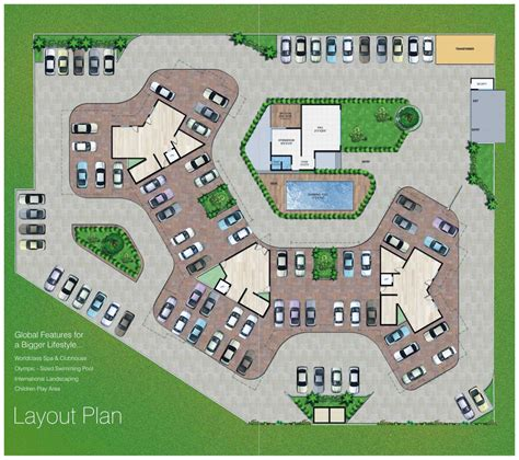 Layout Plan Nashik | blaize nashik maharashtra india 2 and 3 bhk apartments in
