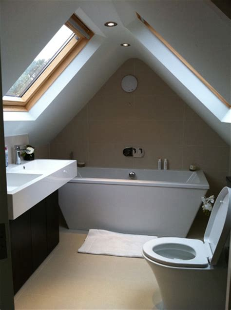 Small Shower Ideas by Loft Conversion Specialists In Amersham Buckinghamshire