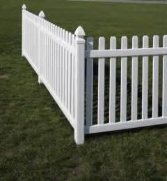 picket fences rothbury vinyl picket fence avinylfence