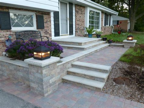 Unilock Retaining Wall Installation 17 Best Images About Unilock Pavers On