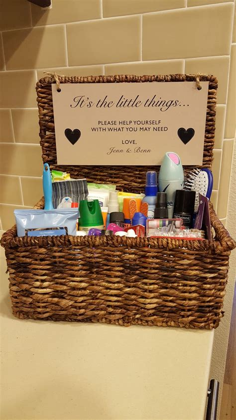 25 best ideas about wedding bathroom baskets on
