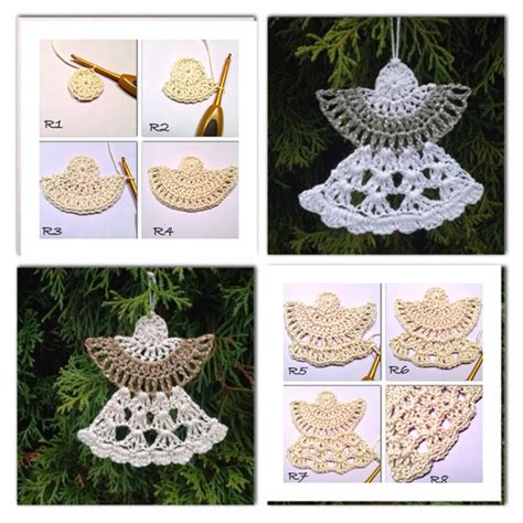 pattern christmas angel christmas crochet angel ornament free patterns beesdiy com