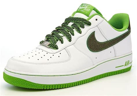 Ac Green Air mens nike air 1 07 leather suede trainers in all sizes ebay