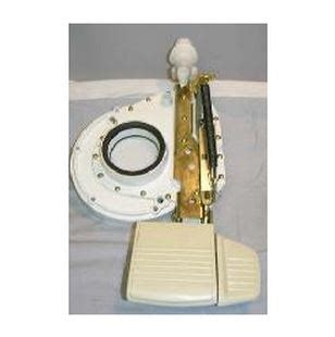 how to use a thetford toilet 14622 thetford toilet flush mechanism use with aqua magic