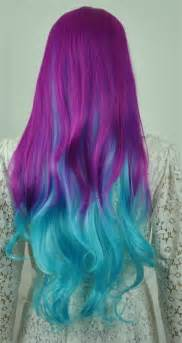 Purple and blue ombre hair pictures photos and images for facebook