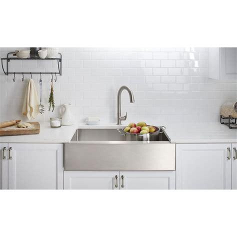 Kohler Farmhouse Sinks by Kohler K 5415 Na Strive Stainless Steel Kitchen Sinks