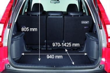 Honda Cr V Kofferraum Abmessungen by Adac Auto Test Honda Cr V 2 2 I Ctdi Executive