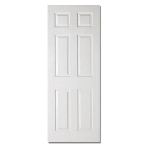 Interior Six Panel Doors Lpd Textured Interior Door White Moulded Veneer 6 Panels 9 Available Sizes Ebay
