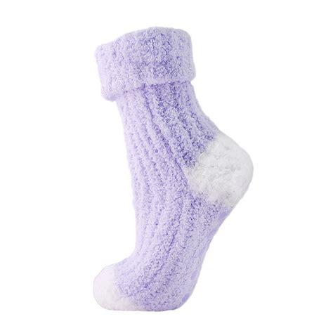 non skid slipper socks womens cosy non skid slipper socks fluffy snowsoft gripper