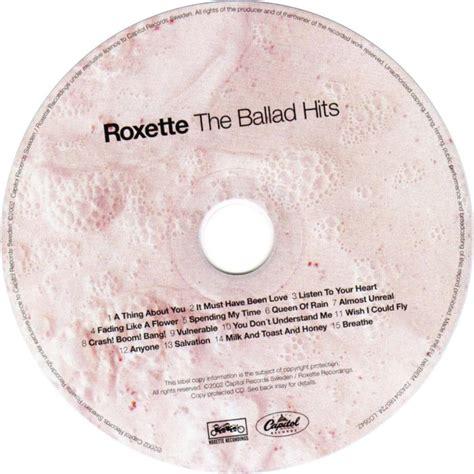 Cd Roxette The Ballad Hits 1 scarica la copertina cd roxette the ballad hits cd scarica la cover cd roxette the ballad