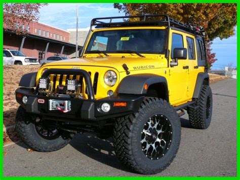 jeep rubicon yellow 2015 jeep wrangler rubicon baja yellow 3 6l v6 24v best