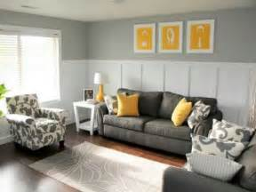 Pale Yellow And Gray Living Room Gray White And Yellow Living Rooms Ideas Home Interior