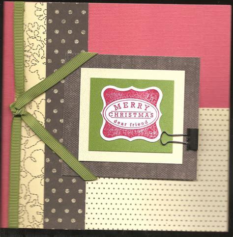 create  bliss merry christmas dear friend card