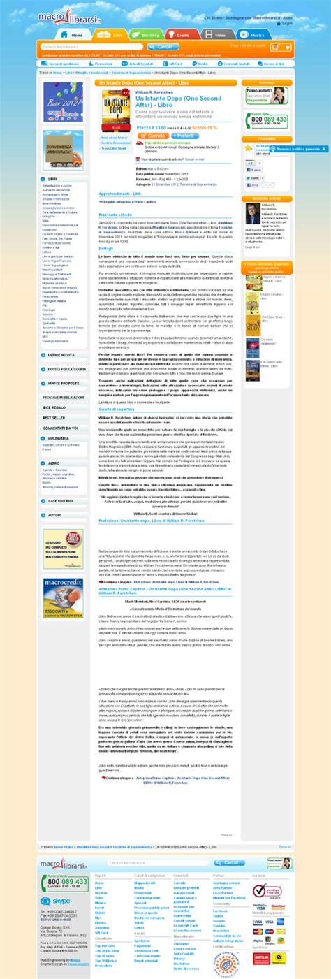 libro the second one and diario nel web gennaio 2012