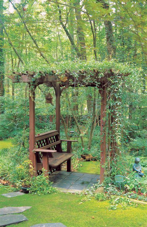 build  bench   arbor sunset magazine