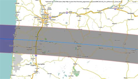 map of oregon solar eclipse total solar eclipse 2017 maps of the path