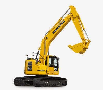Alat Berat Excavator komatsu excavators pc228uslc 10 alat berat