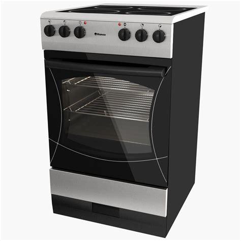kitchen appliance electric stove 3d model cgtrader com electric stove hansa 3d model max obj 3ds cgtrader com