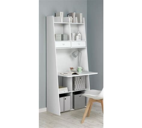 buy auckland wall unit desk white at argos co uk your