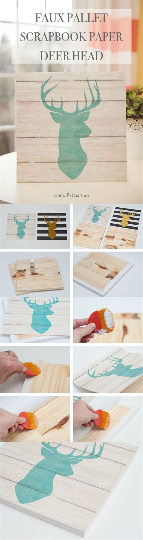 Wood Used To Make Paper - decor hacks use cool scrapbook paper and cut pieces of