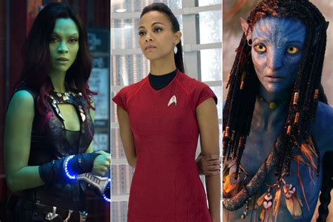 actress of avatar movie guardians of the galaxy star trek and avatar zoe saldana