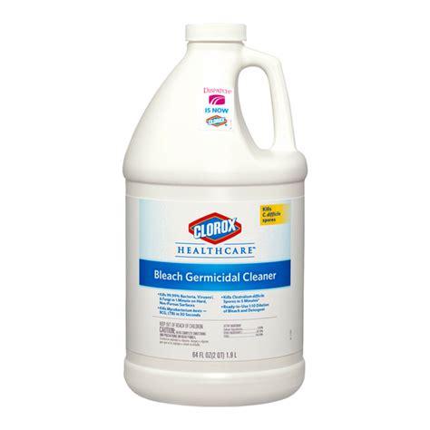 clorox healthcare bleach germicidal cleaner  oz refill