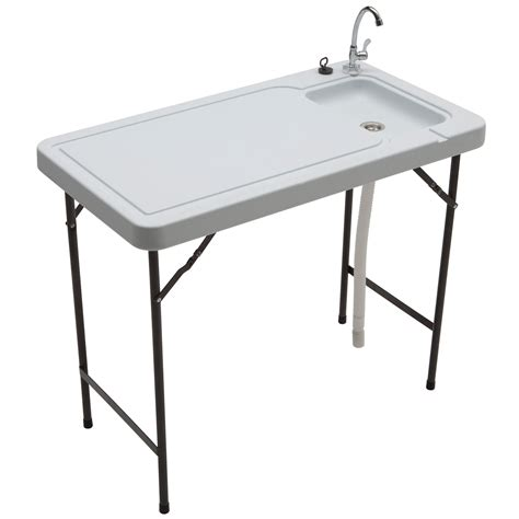 fillet table with sink outdoor cleaning sink table fish fillet gutting board