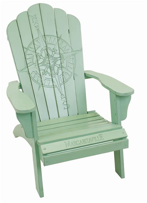 margaritaville adirondack chair cing station margaritaville wood carved quot green