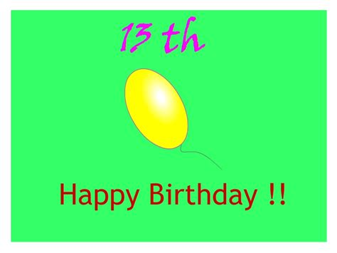 Happy 13 Birthday Wishes Wishes And Quotes 13th Birthday Wishes And Quotes For Girls