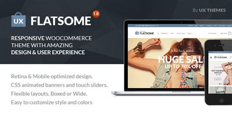themeforest woocommerce theme free download flatsome v1 6 2 themeforest responsive woocommerce theme