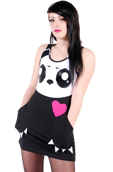 Panda Dress Fashion killer panda kp claw dress killer panda