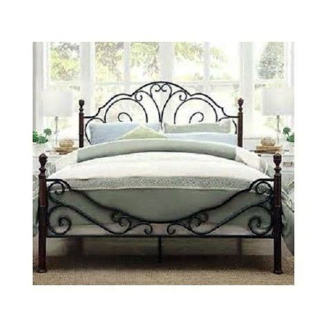 rod iron bed frame wrought iron bed frames queen bing images