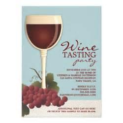 wineglass grapes wine tasting invitation 5 quot x 7 quot invitation card zazzle