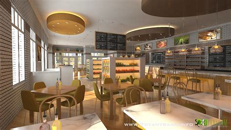 corporate food court design interesting 3d cgi design for food court yantram