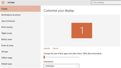 how to control windows 10 the settings guide makeuseof muo windows w10 settings system display