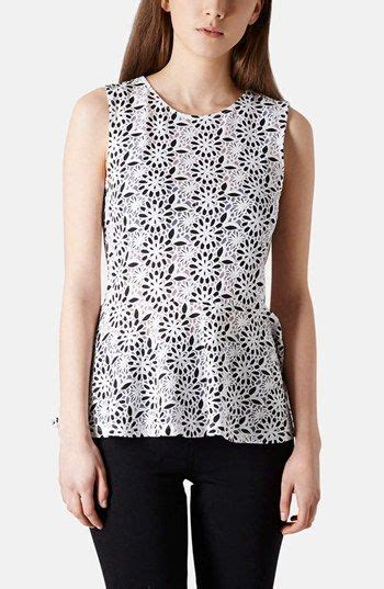 Yay Or Nay Topshops Floral Print Top floral peplum shopping list peplum