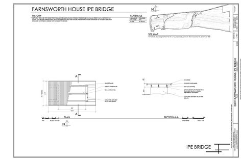 site plan generator site map and plan edith farnsworth house ipe bridge 14520 river road plano kendall county il